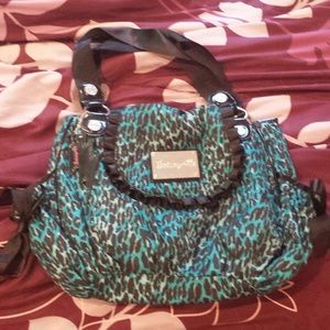 Betseyville animal print shoulder bag