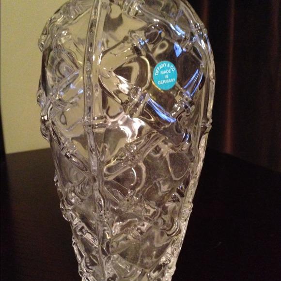 Tiffany Co Other Saletiffany Co Crystal Bamboo Vase Poshmark