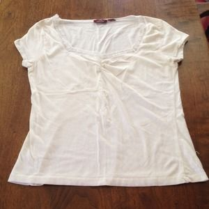 Jordache White Top with Sequins