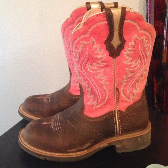 64% off Ariat Boots - ariat show baby boot PINK size 8.5 from ...