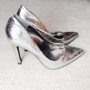 Jessica Simpson Shoes - Silver Pumps