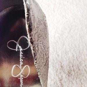 Jessica Simpson Shoes - Silver Pumps