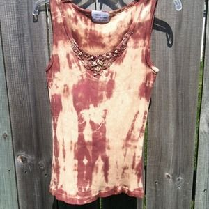 Hand dyed tank