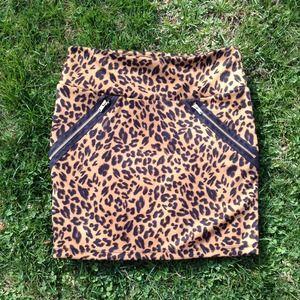 XS Leopard Skirt