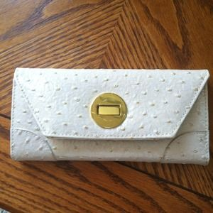 Clutches & Wallets - Cream wallet