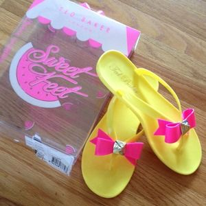NEW Ted Baker 🍉Scent Jelly Flip Flop Sandals