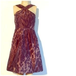 Ocelot Taffeta Dress