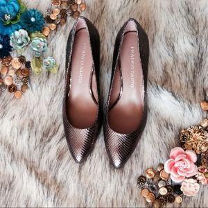 Franco Sarto Shoes - Franco Sarto Silver Pumps 6.5