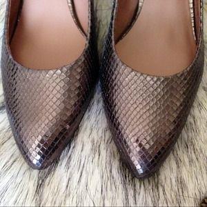 Franco Sarto Shoes - Franco Sarto Silver Pumps 6.5 2
