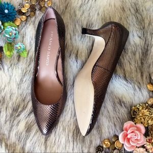 Franco Sarto Shoes - Franco Sarto Silver Pumps 6.5 3