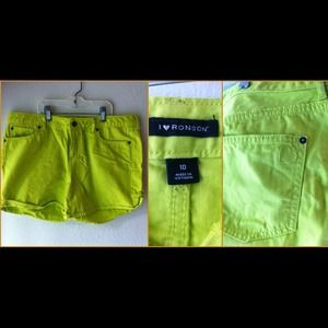I❤️Ronson Neon Shorts! Perfect for summer