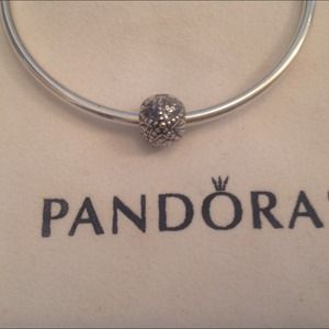 Authentic Pandora Starfish Charm