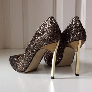 Enzo Angiolini Shoes - 🍂BUNDLE || Silk Dress + Glitter Heels 2