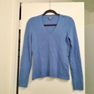 Ann Taylor Sweaters - 🎉SALE🎉 Light blue Cashmere sweater