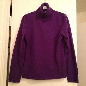 Sutton Studios Sweaters - 🎉SALE🎉 Purple Sutton Studio Cashmere Sweater