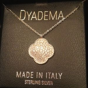 DYADEMA Jewelry - DYADEMA Sterling Silver (.925) Clover Necklace