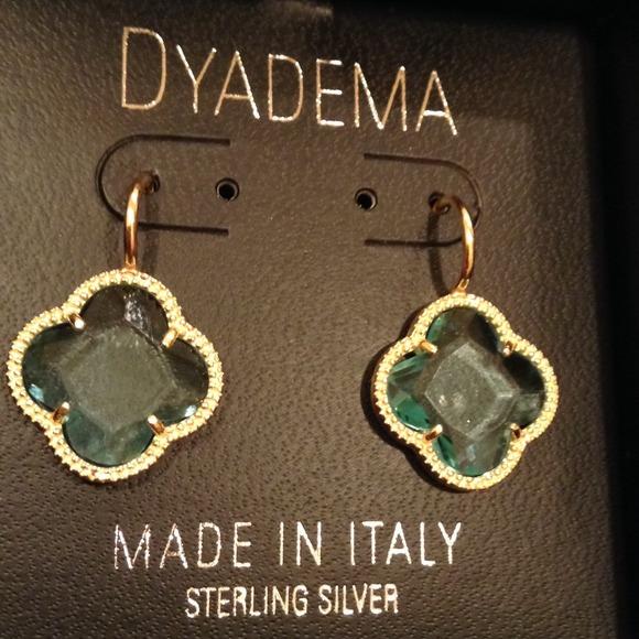 DYADEMA Jewelry Sterling Silver 925 Clover Earrings Poshmark