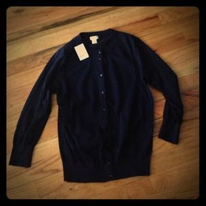 J. Crew Sweaters - Jcrew navy cardigan