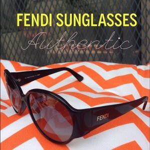 Authentic Fendi Vintage sunglasses!