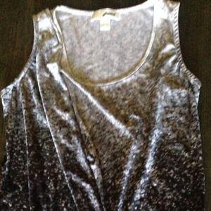 Michael Kors tank blouse top dressy sz small