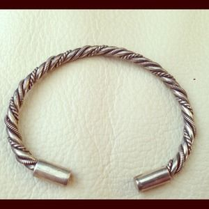 Jewelry - Sterling Silver Twisted Bracelet