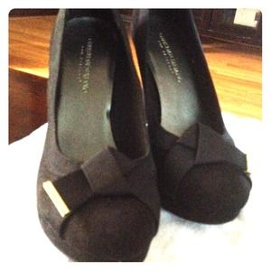 Christian Siriano Shoes - Christian Siriano faux suede pumps