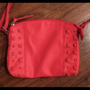 Handbags - CORAL STUDDED CROSSBODY HANDBAG