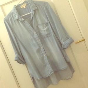 Anthropologie Tops - Cloth and Stone Softest Chambray anthropologie