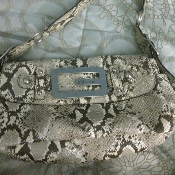 Guess Handbags - Guess Snakeskin Purse 4ac1bbbb3b048