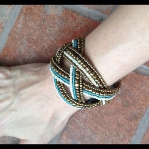handmade Jewelry - Gorgeous zig zag bangle from Bali:)