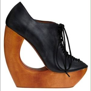 Jeffrey Campbell Shoes - Jeffrey Campbell Sonic Boomerang Wedge