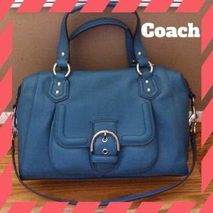 HOST PICK NEW COACH CAMPBELL LEATHER SATCHEL