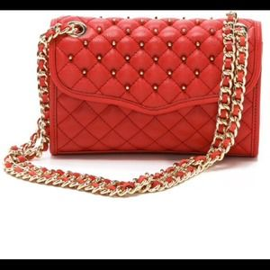 Rebecca Minkoff Handbags - Authentic Rebecca minkoff mini studded affair
