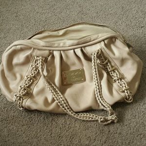 Large beige BEBE bag