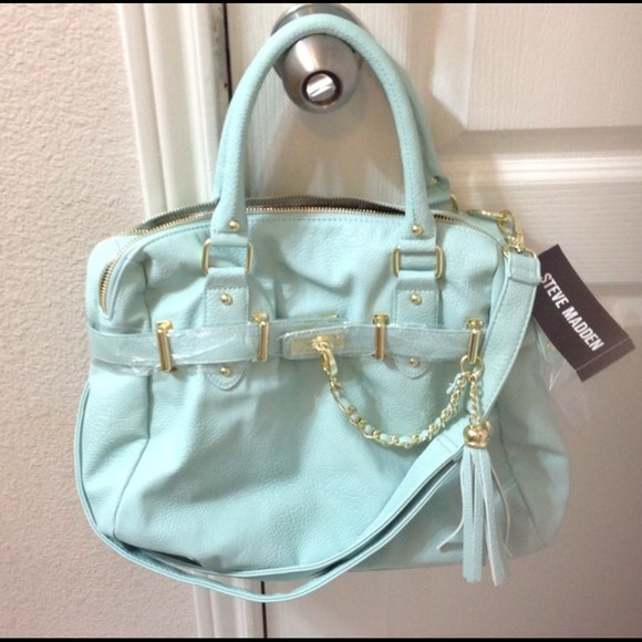 29% off Steve Madden Handbags - Mint green Steve Madden bag! from ...
