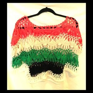 Authentic Hand-Crocheted Blouse