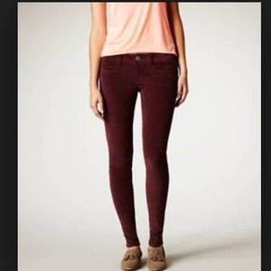 American Eagle Outfitters Pants - Purple corduroy jeggings