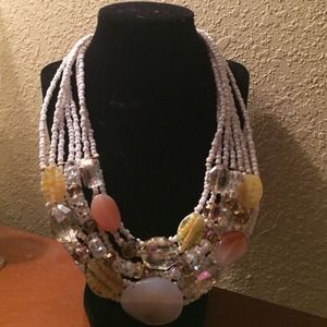 Fashion piece necklace NWOT