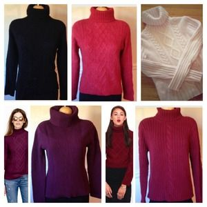 Sweaters - 5 Sweater Bundle DEAL (2 Cashmere)