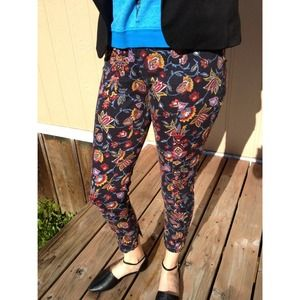 Topshop Printed Pants