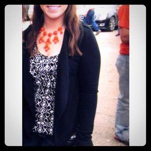 SALE!! Orange statement necklace!