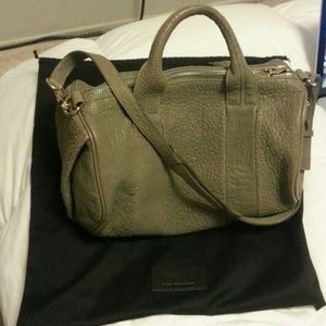 Authentic Alexander Wang Rocco Bag in Granite