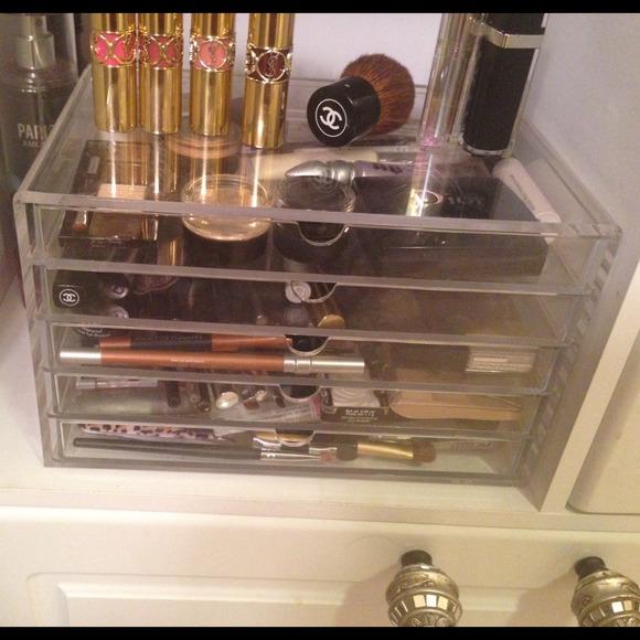 Muji Makeup Organizer Mesmerizing Muji Makeup Acrylic Clear Drawers Organizer Poshmark