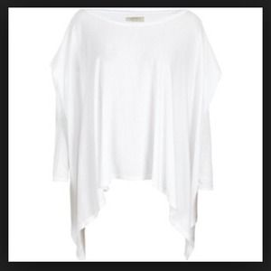 All SaintsWhite Oversized Carine Top 4 S/M