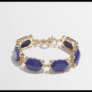 J. Crew Jewelry - J. Crew Dotted Hexagon Bracelet