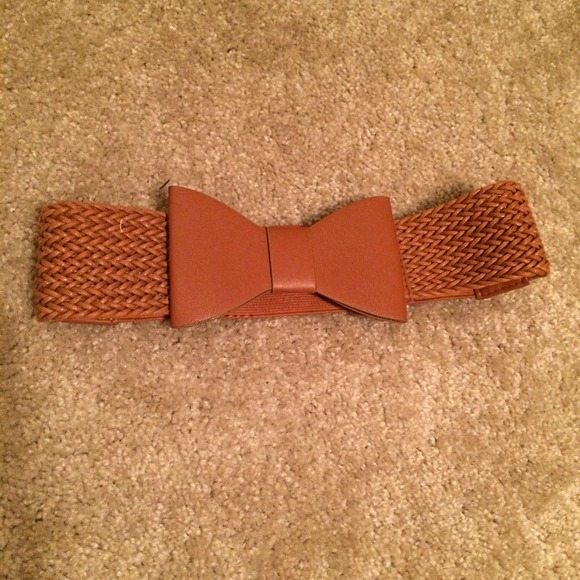 84 accessories brown bow belt from tabetha s closet