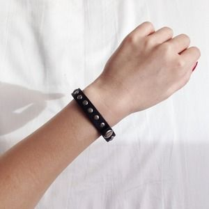 J. Crew Jewelry - J.Crew Brown Leather Bracelet