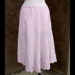 Sparkly pink girly skirt