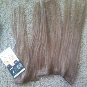 Other - Seven piece hair extensions, human hair