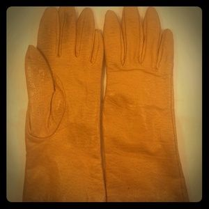 Genuine Leather Lined Gloves